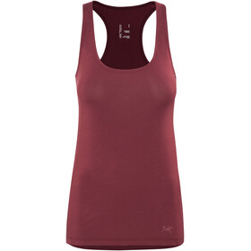 Arc'teryx Prelles - Camisa sin mangas Mujer - rojo
